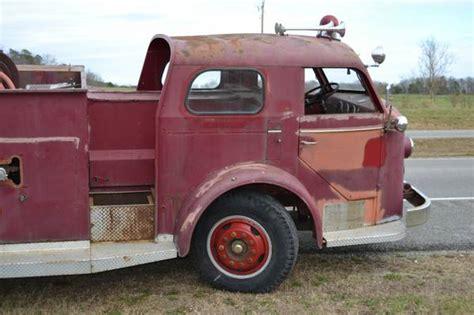 american lafrance pumper fire truck  truck