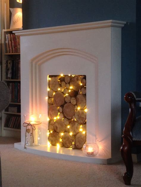 fake fireplace ideas  pinterest faux