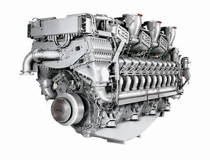 Mtu Diesel Engine 1163 Marine Engines Series