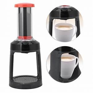 Manual Coffee Maker Brewer For Keurig K Cup Single Serve
