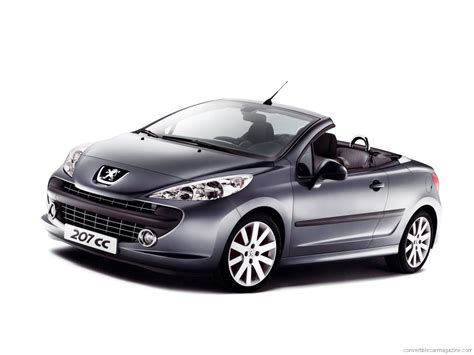 peugeot cabriolet image gallery peugeot 207 convertible 2015