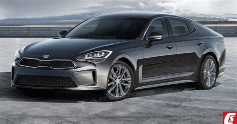 Future Cars Kia's 2018 Gt Rwd Sports Sedan Could Bring
