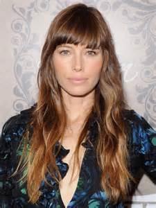 Jessica Biel Ombre Hair
