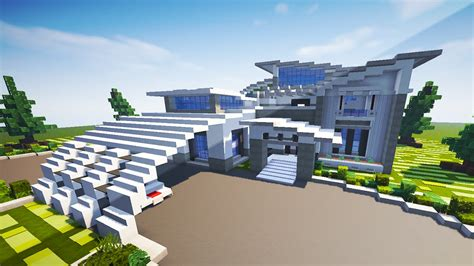 Minecraft Moderne Häuser Map by Contemporary Modern House Minecraft Maps