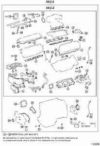 2004 Toyota Avalon Engine Cylinder Head Gasket Set  Gasket
