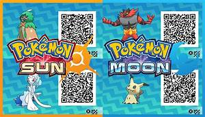 qr codes pokemon sun and moon images