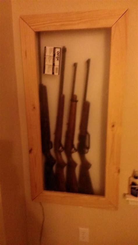 ideas  gun closet  pinterest hidden gun