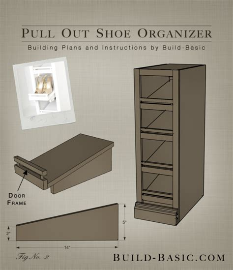 the build basic custom closet system pull out shoe