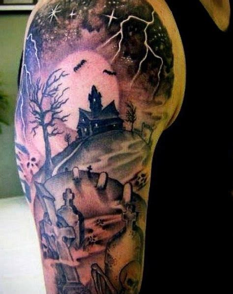 graveyard tattoos designs ideas  meaning tattoos