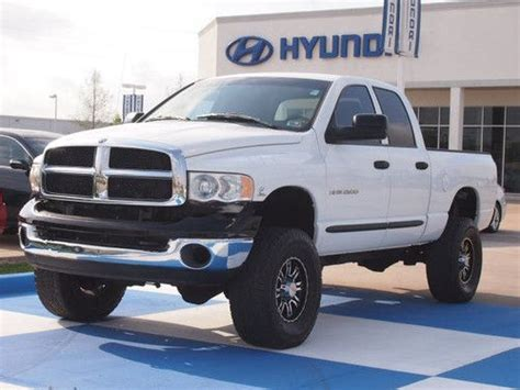 sell used 2004 dodge ram 2500 slt cab bed 5 9l cummins diesel 4x4 lifted tx in