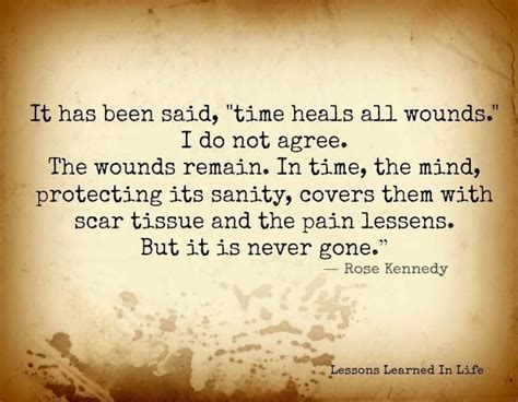 Quotes About Time Healing All Wounds