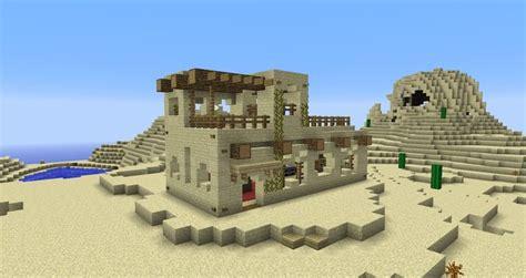 Minecraft Desert House