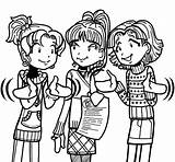 Dork Diaries Chloe Pages Nikki Coloring Printable Colouring Garcia Diary Maxwell Freaked Books Clipart sketch template