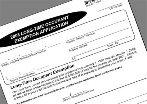 cook county tax exemption forms overlooked exemption could lower property taxes for some