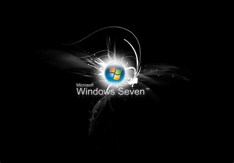 ecran noir bureau windows 7 fond d 39 ecran windows 7 style wallpaper