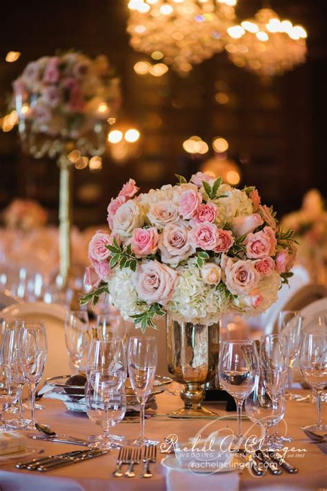 pink wedding flowers toronto centrepieces by rachel a