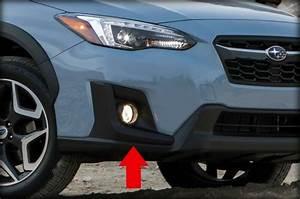 Complete  Fog Light Kit For 2018 2019 Subaru Crosstrek  Housing Switch Wiring
