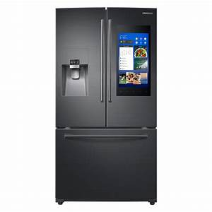 Samsung 24 2 Cu  Ft  Family Hub French Door Smart
