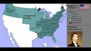 The History Of The United States Of America  Every Year