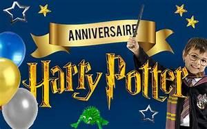 Deco Harry Potter Anniversaire : anniversaire harry potter d co facile et rapide ~ Melissatoandfro.com Idées de Décoration