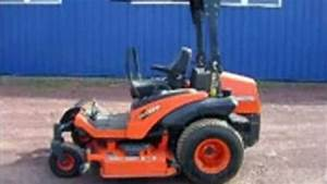 Kubota Zd326 Eu Zero Turn Mower Service Repair Workshop