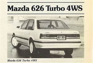 Review Flashback  1988 Mazda 626 Turbo 4ws
