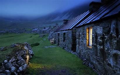 Scottish Landscape Scotland Landscapes Houses Window Mist
