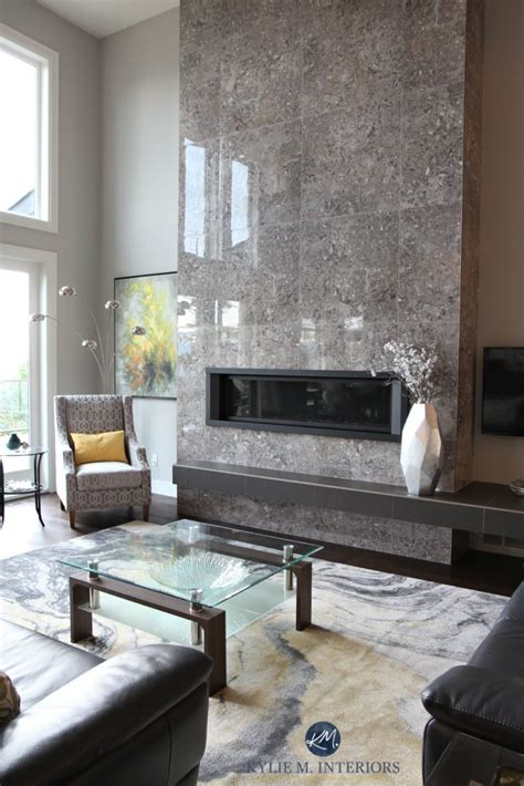 40860 modern grey fireplace a contemporary and comfortable new home in nanaimo