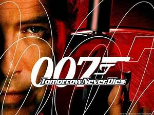PC wallpaper, James Bond 007. Tomorrow Never Dies