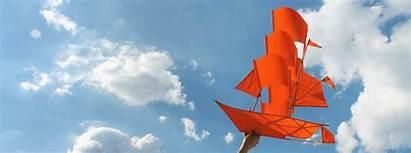 Kite Ship Sailing Lab Kites Banner Soar