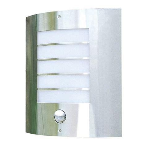 philips oslo outdoor wall light with pir sensor rear