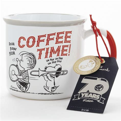 Our mission is to use coffee and coworking to reduce infant mortality. Peanuts® Coffee Time Bottoms Up - Taza