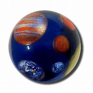 """Solar System Marble (1.4"""" dia.) - ScientificsOnline.com"""