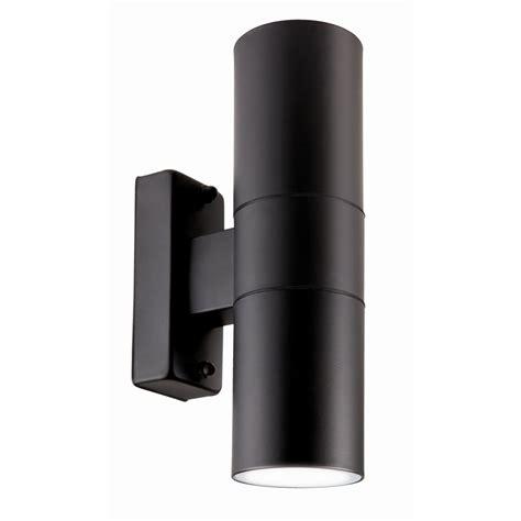 brilliant 35w black coolum up exterior wall light