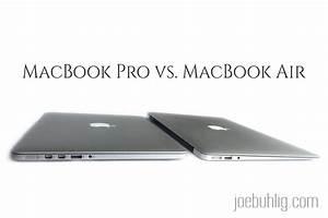 macbook air vs pro