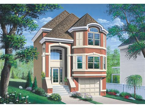 house plans for narrow lots with garage narrow lot house plans garage cottage house plans