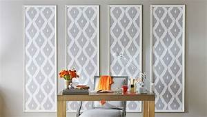 best 25 framed wallpaper ideas on pinterest wallpaper With kitchen cabinets lowes with four panel wall art