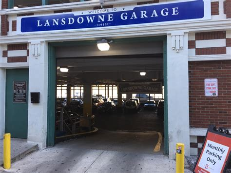 boston parking garage lansdowne garage parking in boston parkme