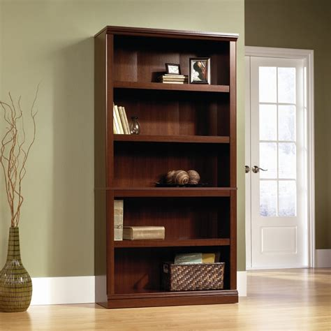 Bookcase Furniture Store by Cherry 5 Shelf Bookcase Storage Rc Willey Furniture Store
