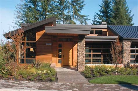 contemporary prairie style house plans small one contemporary modern house plans at eplans com modern
