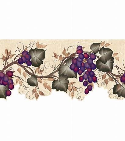 Grape Border Vine Ivy Borders Cut Die
