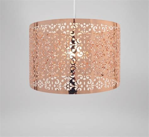 country club copper 29cm moroccan ceiling light l shade