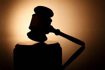 Gavel Silhouette Judge Court Passing Trump Conduct