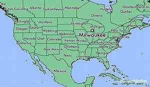 Where is Milwaukee, WI? / Milwaukee, Wisconsin Map ...