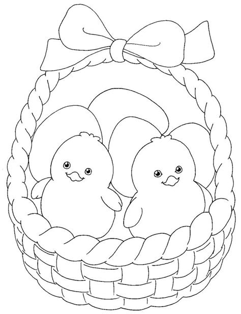 easter pictures to color and print easter basket coloring pages best coloring pages for