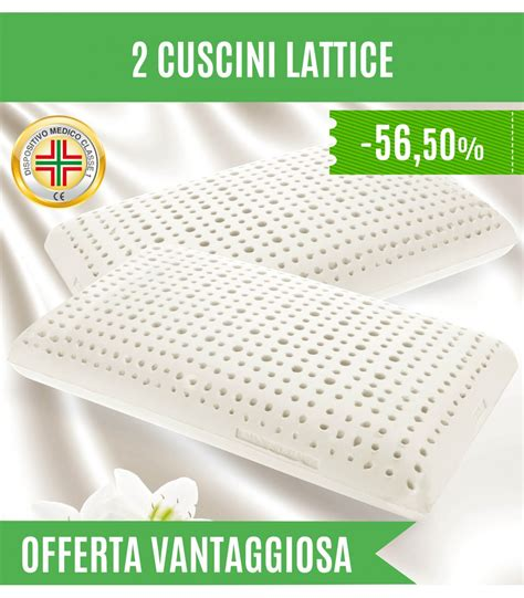 Offerta Materasso Lattice by Offerta Cuscini Lattice