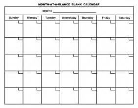 blank calendar pages to print 2017 calendar printable