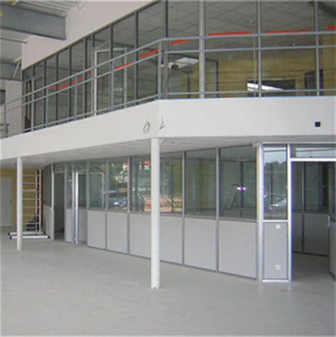 cloison aluminium bureau installation de cloisons bureau industriel logistique entrepôt spingenierie