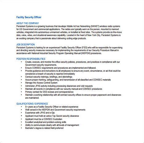 security officer duties and responsibilities tips to write your security officer resume
