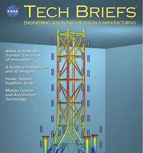 NASA Tech Briefs Logo - Pics about space